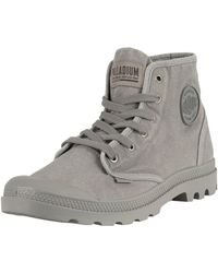 Palladium Pampa Hi Boots - Gray