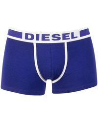 DIESEL - Men's Damien Fresh Bright Trunks, Blue Men's In Blue - Lyst