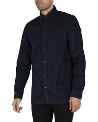 Tommy Hilfiger Flex Corduroy Shirt - Blue
