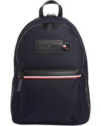 Tommy Hilfiger Modern Nylon Backpack Shoulder Bag - Blue