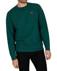 Levi's New Original Sweatshirt - Green