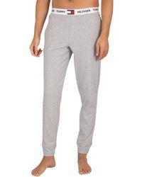 Tommy Hilfiger Logo Pyjama Bottoms - Grey