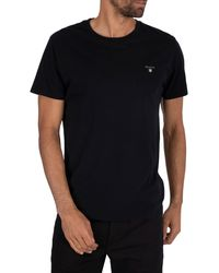 GANT Original T Shirt - Black