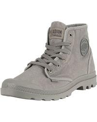 Palladium Pampa Hi Boots - Grey