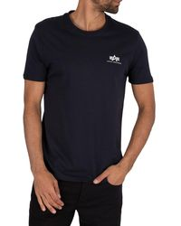 Alpha Industries Basic T-shirt - Blue