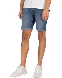 Jack & Jones Rick 031 Denim Shorts - Blue
