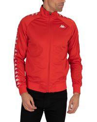 Kappa 222 Banda Anniston Slim Fit Jacket - Red