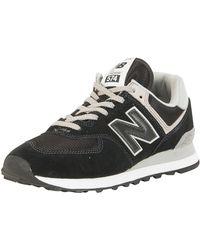 New Balance 574 Trainers - Black