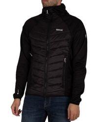 Regatta Andreson V Hybrid Insulated Quilted Jacket - Black