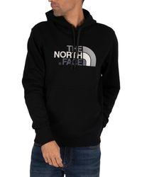 The North Face Drew Peak Graphic Hoodie - Black