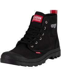 Palladium Pampa Hi Dare Boots - Black