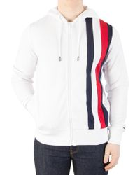 Tommy Hilfiger - Bright White Sporty Tech Zip Jacket - Lyst
