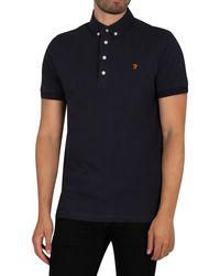 Farah Ricky Polo Shirt - Blue