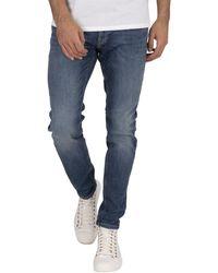 Jack & Jones Liam Original 005 Skinny Jeans - Blue