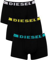 DIESEL 3 Pack Kory Trunks - Black