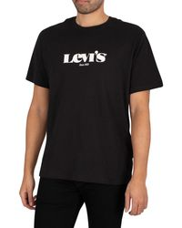 Levi's Relaxed Fit T-shirt - Black