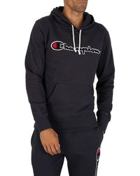 Champion Graphic Pullover Hoodie - Blue