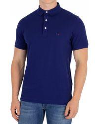 Tommy Hilfiger - Blue Depths Slim Polo Shirt - Lyst