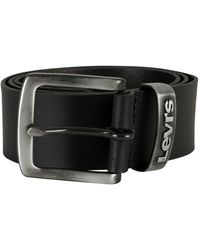Levi's Pilchuck Leather Belt - Black