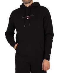 Tommy Hilfiger Essential Pullover Hoodie - Black