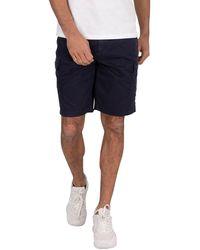 Lyle & Scott Cargo Shorts - Blue
