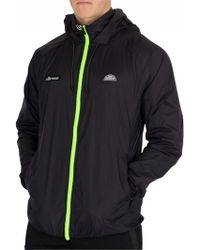 Ellesse - Anthracite Futura Jacket - Lyst