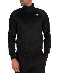 Kappa 222 Banda Anniston Slim Fit Jacket - Black