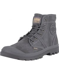 Palladium - French Metal/forged Iron Pallabrouse Wax Boots - Lyst