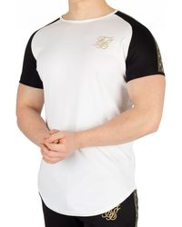 SIKSILK White Performance T-shirt