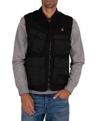 G-Star RAW Utility Vest - Black