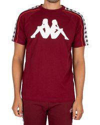 Kappa 222 Banda Dobrev T-shirt - Red