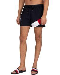 Tommy Hilfiger Short Drawstring Regular Swim Shorts - Blue