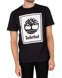 Timberland Graphic T-shirt - Black