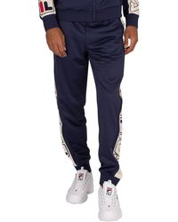 Fila Greene Stripe Track Sweatpants - Blue