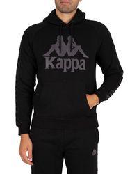 Kappa 222 Banda Hurtado 2 Hoodie - Black