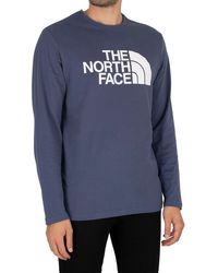 The North Face Longsleeved Half Dome T-shirt - Blue