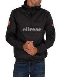 Ellesse Acera Pullover Jacket - Black