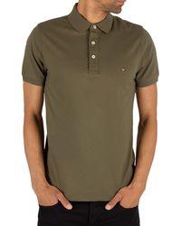 Tommy Hilfiger Slim Fit Poloshirt - Green