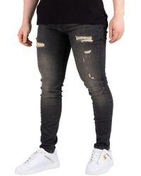 Religion - Black Ripper Rel 7 Jeans - Lyst