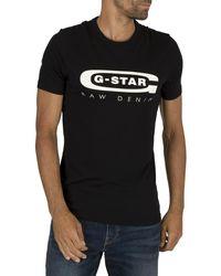 G-Star RAW Graphic Slim T-shirt - Black