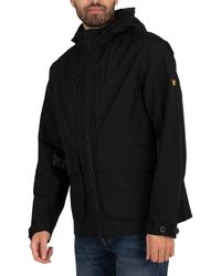Lyle & Scott Hooded Jacket - Black