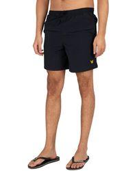 Lyle & Scott Plain Swim Shorts - Blue