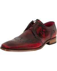 Jeffery West - College Red Scarf Polished Shoes - Lyst