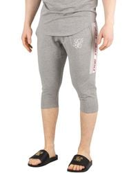 SIKSILK Performance Sweat Shorts - Gray