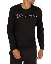 Champion Graphic Sweatshirt - Black