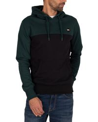 Superdry Collective Color Block Pullover Hoodie - Black