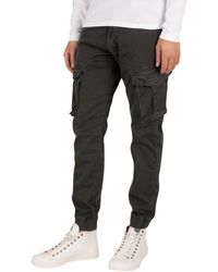Alpha Industries Spy Cargos Trousers - Black