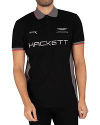 Hackett - Aston Martin Racing Multi Polo Shirt - Lyst
