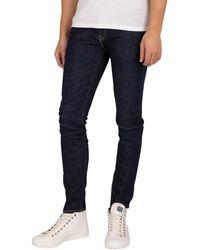 Jack & Jones Liam Original 074 Skinny Jeans - Blue