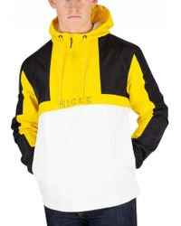 Nicce London Black/vibrant Yellow Byron Jacket